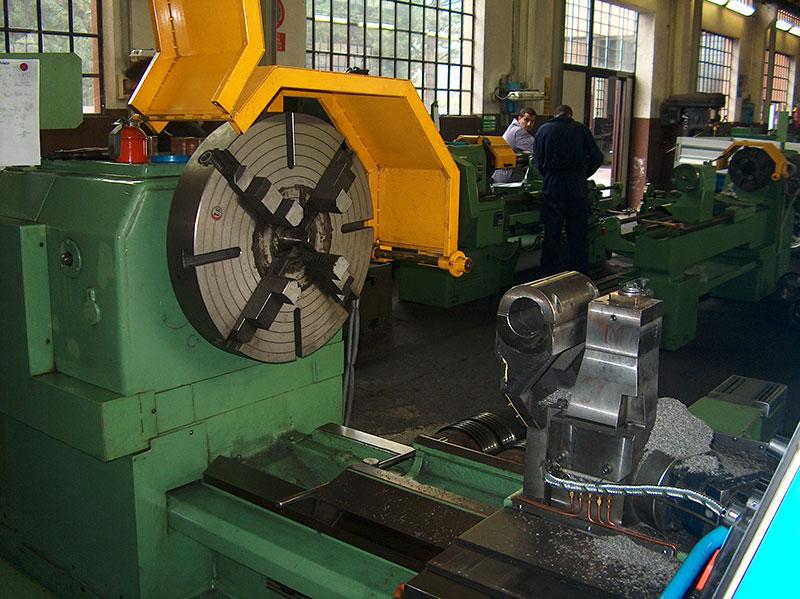 costruzione macchina per tacche a CNC